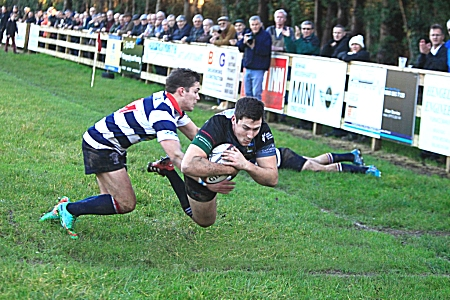 Bridgnorth Try against Stourbridge