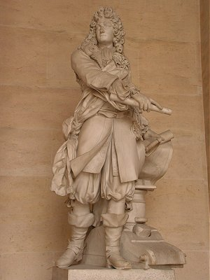 Statue of Vauban at Versailles