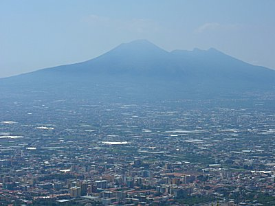 Vesuvius looking over Nocere