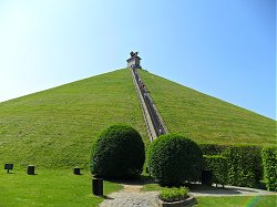The Lion Mound at Waterloo