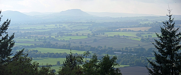 A view from Wenlock Edge