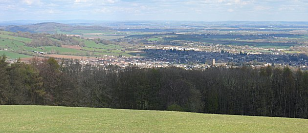 Looking North over Winchcombe