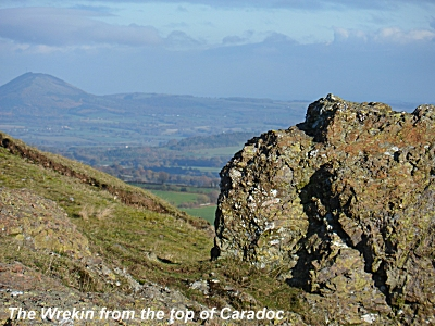 The Wrekin from Caer Caradoc