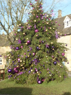 The Christmas Tree at Stow