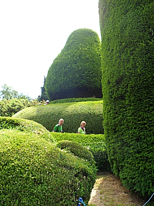 Packwood Hall Yew Garden, the Mount