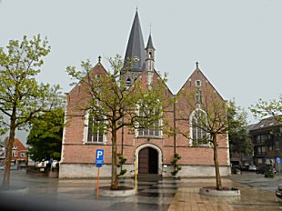Zomergem church.